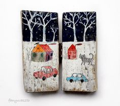 winter by AgnesLaczo on Etsy