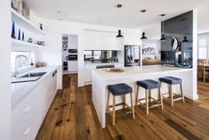 The uncompromising style of this kitchen simply shines - Completehome Kitchen Styling, Kitchen Storage, Butler Pantry, Kitchen Design, Traditional, Contemporary, Table, Projects, Room
