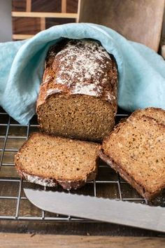 Gluten Free Baking, Gluten Free Recipes, Bread Recipes, Snack Recipes, Meat Recipes For Dinner, Healthy Crockpot Recipes, Healthy Food, Bread And Pastries, Ground Beef Recipes