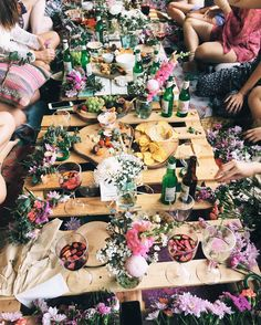 Pinterest: @obscollective | Bachelorette lunches Food Photography, Picnic, Balloons, Dream Wedding, Brunch, Table Settings, Entertaining, Simple, Instagram Posts