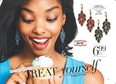 Treat yourself to these darling chandelier earrings for only $6.99 http://llroberts.avonrepresentative.com