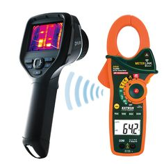 Meterlink Technology allows you to obtain field measurement readings and display them directly on your camera. Plus the data is captured when you save an image.