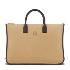 Loewe - amazona briefcase 42 gold brown - Women s Bags Animal Bag, Loewe, 61dd76d0a7