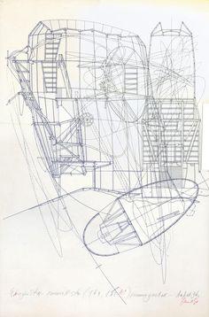 Lebbeus Woods, Solohouse, 1988-1989