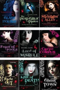 One of my all time favorite series! Morganville Vampire Series by Rachel Caine- Paranormal Young Adult Genre I Love Books, New Books, Good Books, Books To Read, Vampire Books, Vampire Series, Morganville Vampires, Paranormal Romance Books, Books For Teens