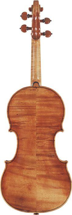 Giuseppe Guarneri Filius Andreæ  (1710)  A Violin Cremona, 1710  Labelled Joseph Guarnerius filius Andreæ fecit Cremone sub titulo S. Teresie 1710  Length of back: 35.5 cm