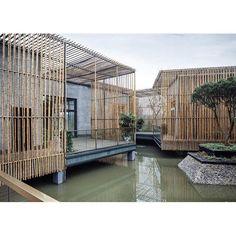 Via promenadearchitecture Tea House, HWCD Associates, Yangzhou, China