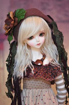 bjd-resinrome: Peaks Woods, Peakswood FOC Goldie bjd doll sd size by sylvia1sam on Flickr.
