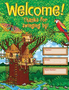 Jungle Treehouse Chart