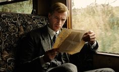 a beautiful new still of James D'Arcy in Cloud Atlas as young Rufus Sixsmith