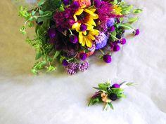 August Wildflower Wedding