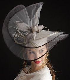 Chapeau de Mariée Cérémonie Soirée  très original