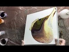 ( 030 ) Acrylic pouring with PVA glue (request) - YouTube