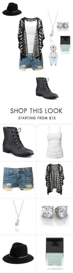 """""""Living"""" by jazz52099 ❤ liked on Polyvore featuring Sperry Top-Sider, James Perse, rag & bone, Meadowlark, Butter London, Marc Jacobs, Hipster, Aztec and chill"""