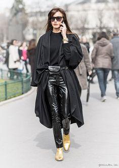 Ece Sukan, street style, Paris Fashion Week, Sandra Semburg / Garance Doré