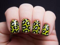 Radioactive Slime Leopard Print American Apparel Crescent...