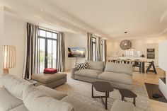 CLIC richtet Luxus Ferienwohnungen auf Rügen ein - Villa Philine - Design, Interiordesign Villa, Couch, Interiordesign, Projects, Furniture, Home Decor, Homes, Log Projects, Settee