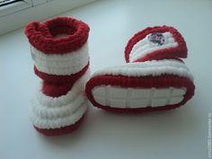 0bd004480 Купить Плюшевые сапожки - белый, Сапожки, вязаные сапожки, детские сапожки,  сапожки для детей