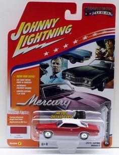 1:64 JOHNNY LIGHTNING 2016 MUSCLE CARS USA 1971 MERCURY MONTEGO - Bright Red  #JohnnyLightning #Mercury