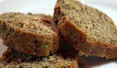 Looking for new recipes for cricket flour and other insect protein powders? Check out our featured cricket flour recipes that provide all the ingredients, and all. Moist Zucchini Bread, Zucchini Bread Recipes, Courgette Bread, How To Cook Zucchini, Healthy Treats, Yummy Treats, Yummy Food, Healthy Recipes, Cricket Flour