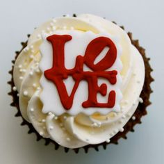 #Love #Cupcakes by #whippedbakeshop for $5.25 each http://whippedbakeshop.com