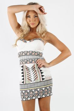 NOTHING TO WEAR   TRIBAL PARTY DRESS