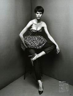 Aymeline Valade by Patrick Demarchelier for Vogue Japan, November 2012 (2)