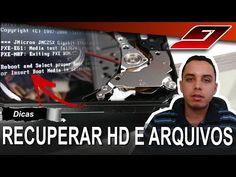 Recuperar arquivos de HD Batendo Agulha (Barulho e não liga) | Guajenet - YouTube
