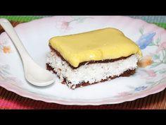 Prajitura Rapida cu Nuca de Cocos - YouTube Macarons, Cheesecake, Make It Yourself, Desserts, Food, Youtube, Cheesecake Cake, Postres, Cheesecake Pie
