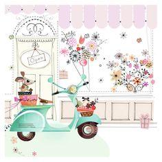 Leading Illustration & Publishing Agency based in London, New York & Marbella. Cute Illustration, Watercolor Illustration, Doodles, Illustrations, Happy Planner, Pattern Art, Doodle Art, Birthday Wishes, Cute Art