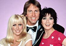 Three's Company <3  I was not allowed to watch this show, but I would anyway.