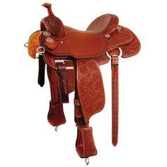 Martin Sherry Cervi Crown C Barrel Saddle with Gullet Team Roper, Roping Saddles, Barrel Saddle, Saddle Shop, Western Horse Tack, Tack Sets, Equestrian Style, Equestrian Fashion, Saddle Pads