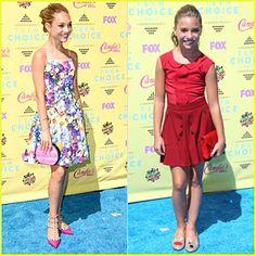 Mackenzie and Maddie at the 2015 Teen Choice Awards!!