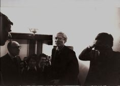 Franco Farina, Totto Carrà, Raffaele Torelli e Andy Warhol