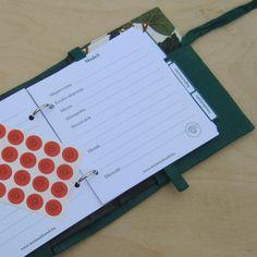 """""""Borostyán"""" kézimunka füzet - zöld Notebook, The Notebook, Exercise Book, Notebooks"""