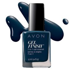 7 benefits in one little bottle! Get the best at home gel nails with Avon Gel Finish 7-in-1 Nail Enamel. This high-shine mani not only looks great but is healthy for your nails. Forget destroying your nails will salon gel-manicures.Avon Gel Finish protects and strengthens your nails, while making them look great with vivid color choices. Shop online at www.youravon.com/my1724 or by clicking on the pin!!