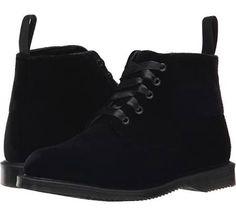 Dr. Martens Lana Women's Shoes Black Ze You Velvet : UK 4 (US Women's 6) M