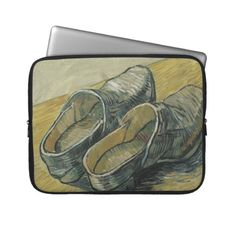 Vincent van Gogh - A pair of leather clogs Laptop Computer Sleeve