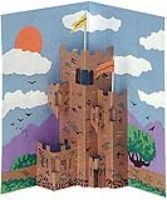 """Students will learn how each of the architectural elements of a castle was designed for the purpose of protection and design their own fortress by making a """"pop-out"""" from construction paper."""