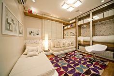 quarto de menina / purple / girl / bedroom / apartamento decorado / home decor / bohrer arquitetura / interior design