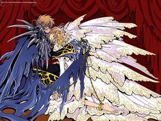 sakura And syaoran Manga Anime, Manga Art, Dreamworks, Couples Cosplay, Xxxholic, Card Captor, Cardcaptor Sakura, Manga Games, Drawing People