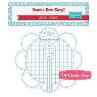 Seams Sew Easy! Aqua Seam GuideLori Holt of Bee in my Bonnet #STSEAMGUIDE-AQUA