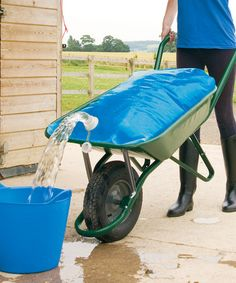 Loving this Kelley Equestrian Water Wheelbarrow Bag on Dream Stables, Dream Barn, Horse Stables, Horse Barns, Horse Tack, Horses, Horse Fencing, Horse Gear, Future Farms