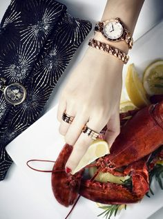 Bvlgari Accessories in Dichan magazine Thailand still life photography