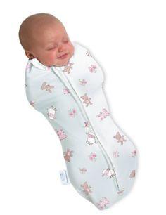 SwaddlePod (2LL), Neugeborenes/Lämmchen, Ganzkörper-Pucksack mit Reißverschluß