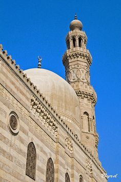 Mosque & minaret, Old Cairo, via Flickr.