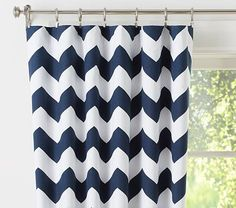 """Chevron Blackout Panel #pbkids-$80 each 96"""" may be too short though"""