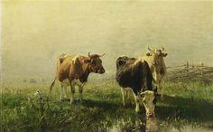 Anton Mauve - Koeien in de wei