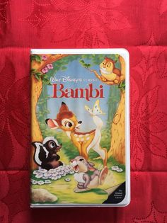 Collectible RARE Bambi Black Diamond Classic With Framed Lithograph  | eBay