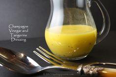 champagne vinegar tangerine dressing